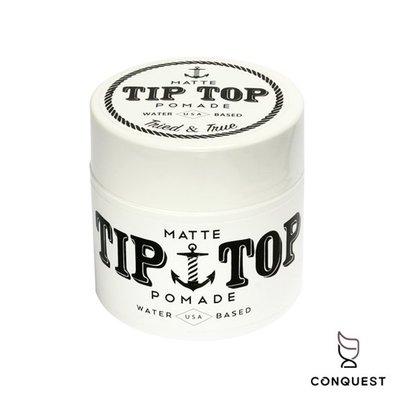 【 CONQUEST 】美國 Tip Top Matte Pomade 水洗式髮油 髮蠟 霧面光澤 易清洗 焦糖椰子香味