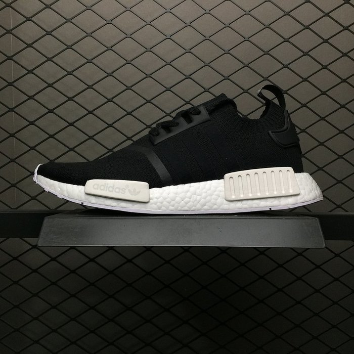 Adidas NMD_R1 PK 黑白 百搭 休閒運動慢跑鞋 BA8629 男鞋