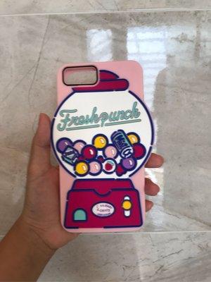 二手水果糖扭蛋機iPhone7plus手機殼