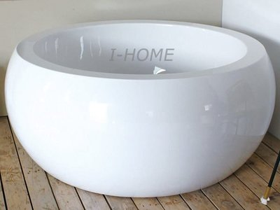 I-HOME 浴缸台製 JF-155E (155x155cm) 圓型 獨立浴缸 空缸 浴缸龍頭 需另購