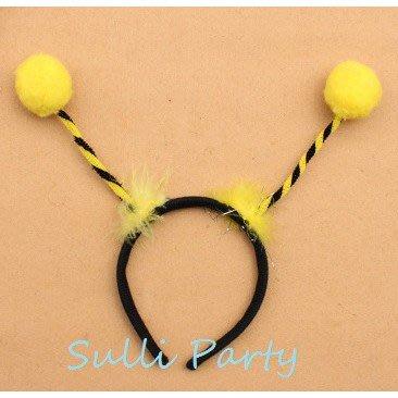 雪莉派對~蜜蜂髮箍 瓢蟲髮箍 萬聖節....