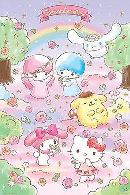 Sanrio Characters夢幻花園拼圖1000片 HP01000-142