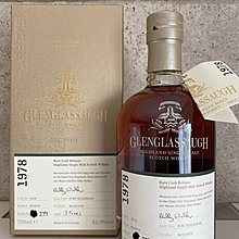 Glenglassaugh 1978 35 Years Old 1978/2014 Single Cask #1810 -42.9%abv