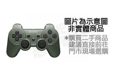 【二手商品】PlayStation 3 PS3 D3 原廠無線控制器 墨綠色 搖桿 手把 手柄 把手【台中恐龍電玩】