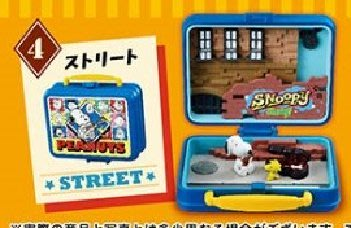 Re-Ment Peanuts Snoopy & Woodstock Little Lunch Box Museum 史路比 # 4 Street