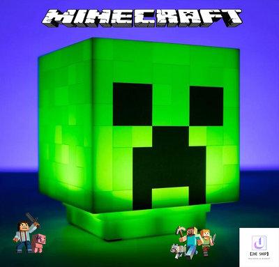 【JHE的小賣場】Minecraft創世神苦力怕造型小夜燈/我的世界/創世神/夜燈/氣氛燈