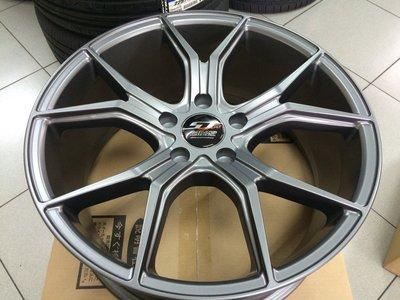 【AS輪胎】鈦珈鋁圈 ST322 18吋 8J ET42 平光灰 多種車款 歡迎來電洽詢 新北市