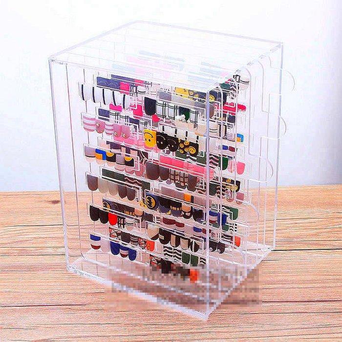 美甲收納盒展示盒 日式壓克力色卡展示架 指甲甲片樣本整理收納盒(A款)_☆找好物FINDGOODS☆