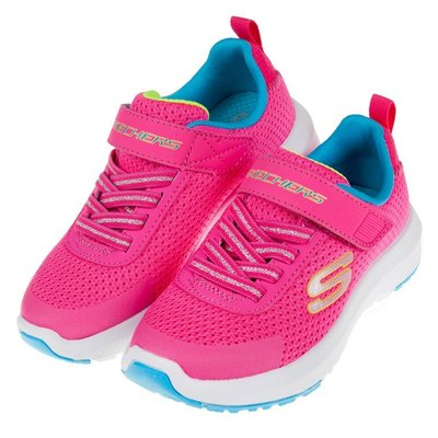 童鞋(17~23.5公分)SKECHERS_DYNAMIC_TREAD桃色兒童運動鞋N9R365H