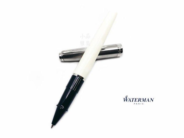 =小品雅集=法國 Waterman Emblème 巴黎魅影系列 鋼珠筆(象牙白色)