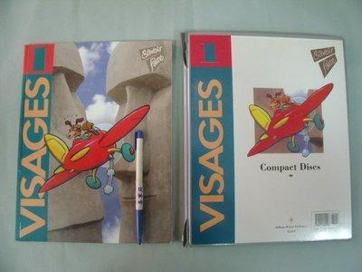 【姜軍府】《VISAGES 1 - savoir faire 1書+8CD合售!》法語法文歌曲 Addison-Wesley Publishers