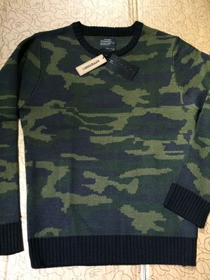 [變身館日本服飾]~AMORTE~針織衫~毛衣~上衣~迷彩~日本購入~全新現品~出清價~L