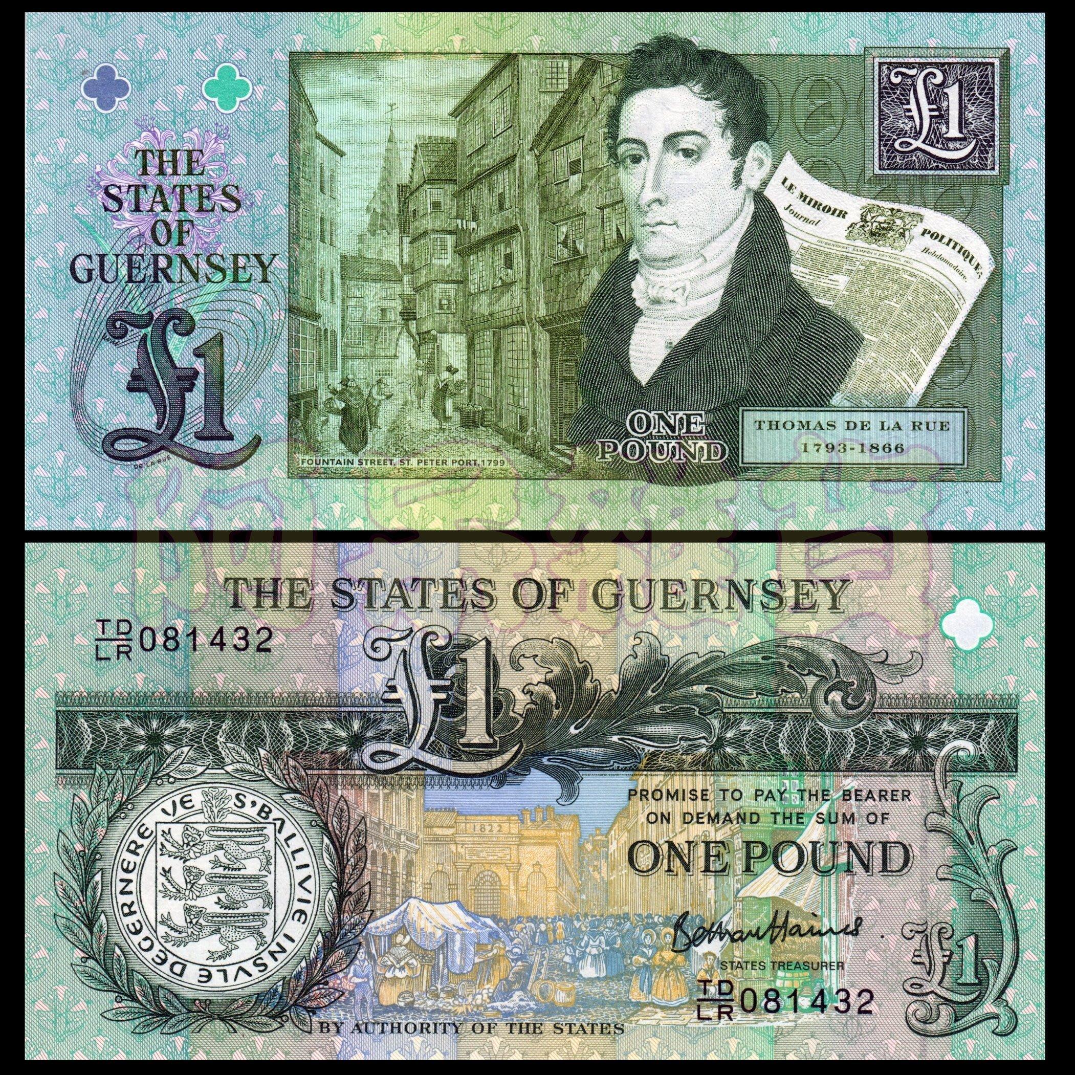 森羅本舖 現貨實拍 真鈔 根西 200周年 1鎊 2013年 動物 英國 英國女王 海島 海峽 綠色 五色錢 格恩西
