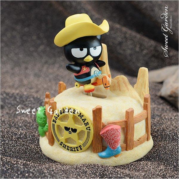 Sweet Garden, 酷企鵝警長音樂盒(免運) 西部大拓荒 警長騎馬帥氣巡視 警徽牛仔帽 送小男孩生日禮物