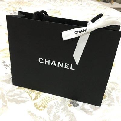 全新 CHANEL 專櫃 正貨 附蝴蝶結 緞帶 精品 香奈兒 LOGO 紙袋  提袋 台中市