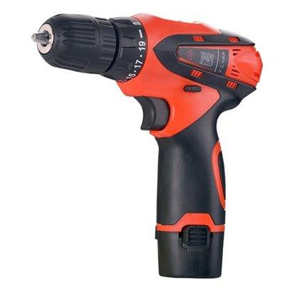 福瑞德12v手電轉鑚家用手電鑚多功能電動螺絲刀鋰電池充電手槍鑚
