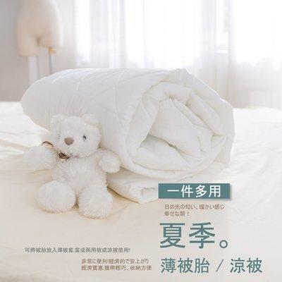夏季薄被胎 / 涼被、雙人180x210cm、台灣製造、單件可全家超取;夢之語