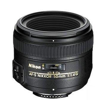 【eWhat億華】Nikon AF-S NIKKOR 50mm F1.4 G 超優光圈人像鏡  現貨 平輸【3】