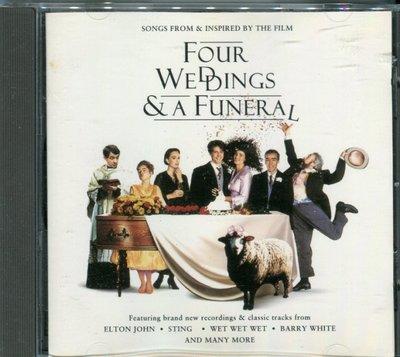 【嘟嘟音樂2】妳是我今生的新娘 Four Weddings And A Funeral  電影原聲帶