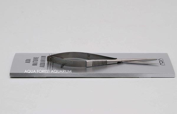 ◎ 水族之森 ◎ 日本 ADA Pro-Scissors Spring (Straight type) 不鏽鋼彈簧剪(2013年式 限量發售)