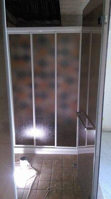 超強衛浴 有框一字三門PS板只要3800 3800 3800 乾溼分離 淋浴拉門