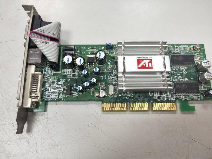 【光華維修中心】ATI 9200SE 128M DDR DVI-I-TVO  AGP介面(二手良品)-P103