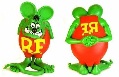 (I LOVE樂多)極稀少2003年RAT FINK RF老鼠芬克絕版商品 僅1隻
