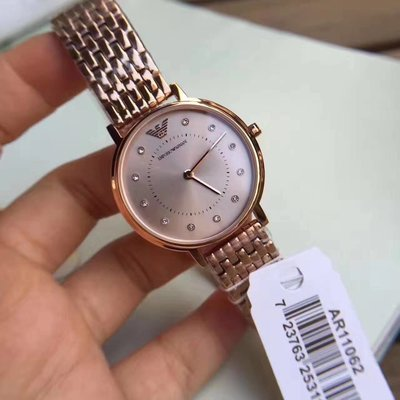 ARMANI AR11062 簡約時尚優雅女士手錶 限時特價