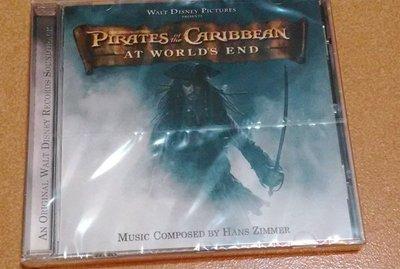 正版全新CD~神鬼奇航3 世界的盡頭Pirates of the Caribbean: At World's End