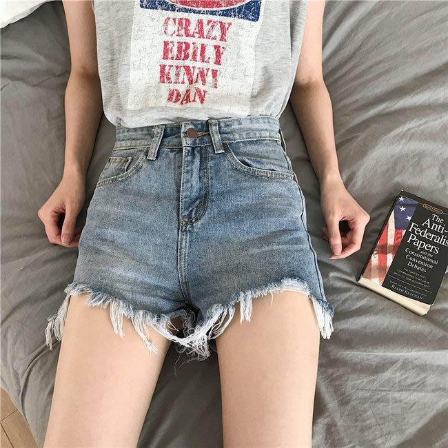 FINDSENSE 正韓女裝 G6 夏季 中高腰 女性 短褲 女褲 夜店 牛仔 低腰 超短熱褲 褲子