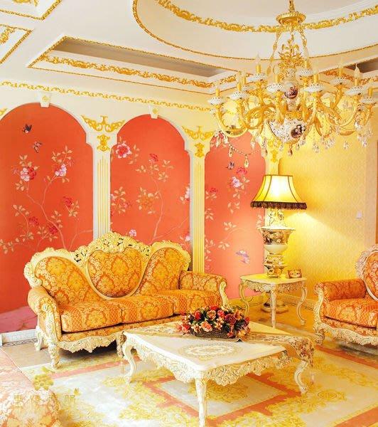 【芮洛蔓 La Romance】手繪絲綢壁紙 P-4 / 壁飾 / 壁畫 / 牆紙