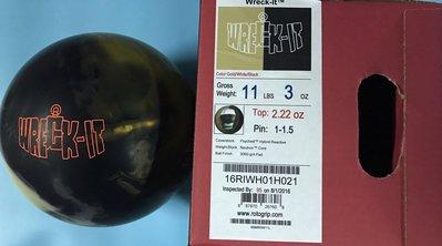 美國進口保齡球ROTO品牌,Wreck-lT保齡球玩家喜愛的品牌