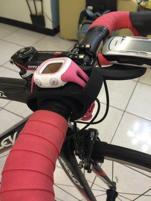 Garmin tomtom手錶固定座 自行車三鐵表固定座 碗錶固定 手錶轉化座