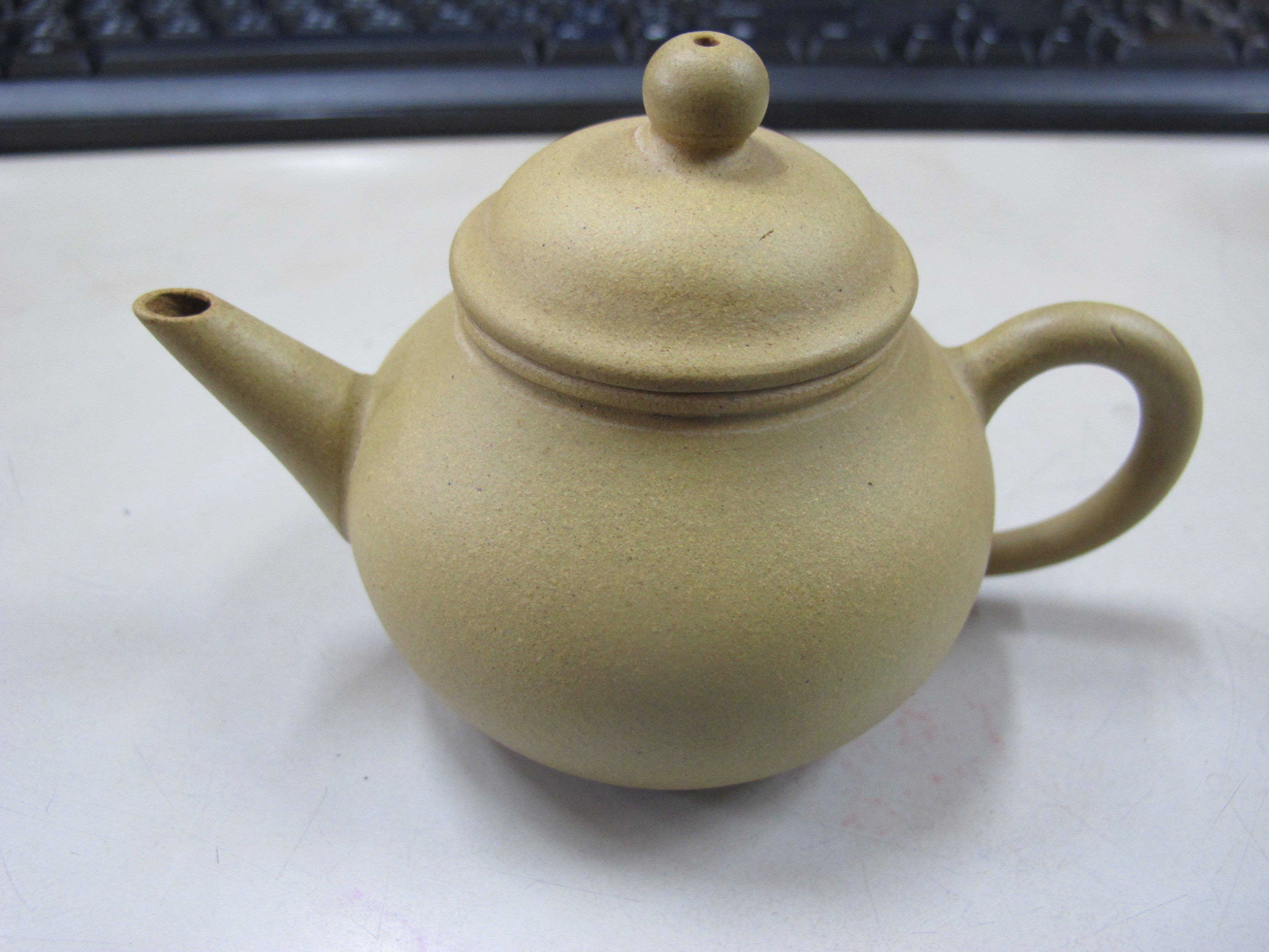 二手舖 NO.5344 紫砂壺 手工茶壺 標準壺 特價 中國宜興紫砂壺
