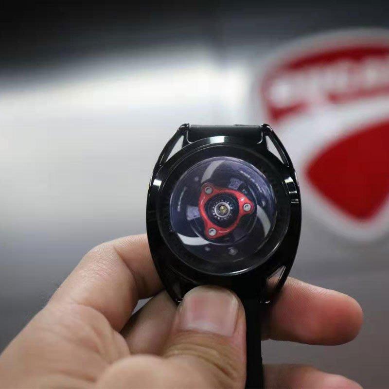 【購物百分百】杜卡迪發動機手表男 可旋轉動智能電子表 杜卡迪離合器手表抖音同款