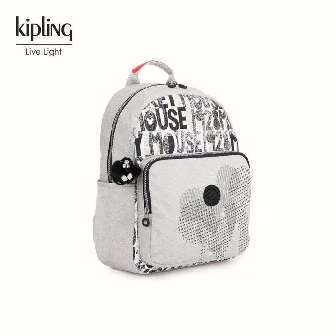 凱莉代購 新款Kipling凱浦林MICKEY限量版聯名款KI0016雙肩包書包 預購