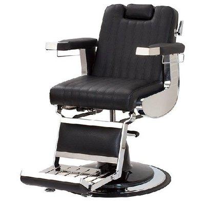 預購《SalonPlanet沙龍之星》LUMBER頂級美容理髮椅(黑色)/美髮/質感/復古
