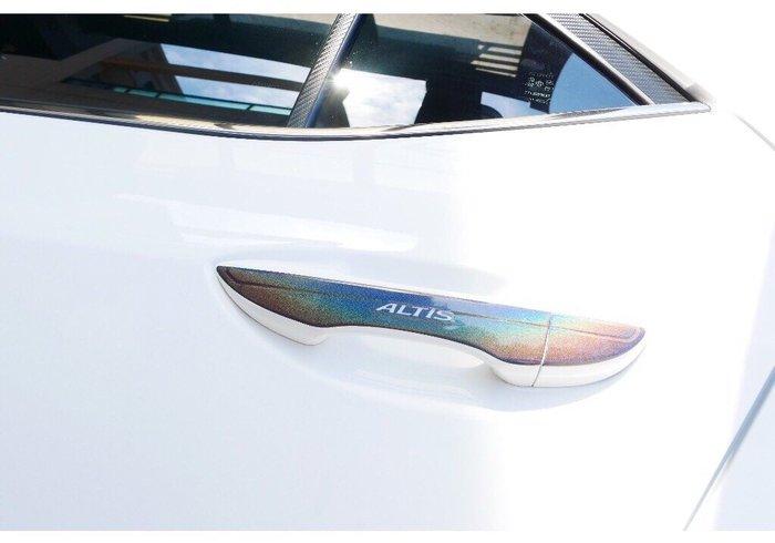 TOYOTA豐田11-11.5代【ALTIS外拉手把貼膜】altis專用 X版 阿提斯配件 3M變色龍貼 車貼 造型貼紙