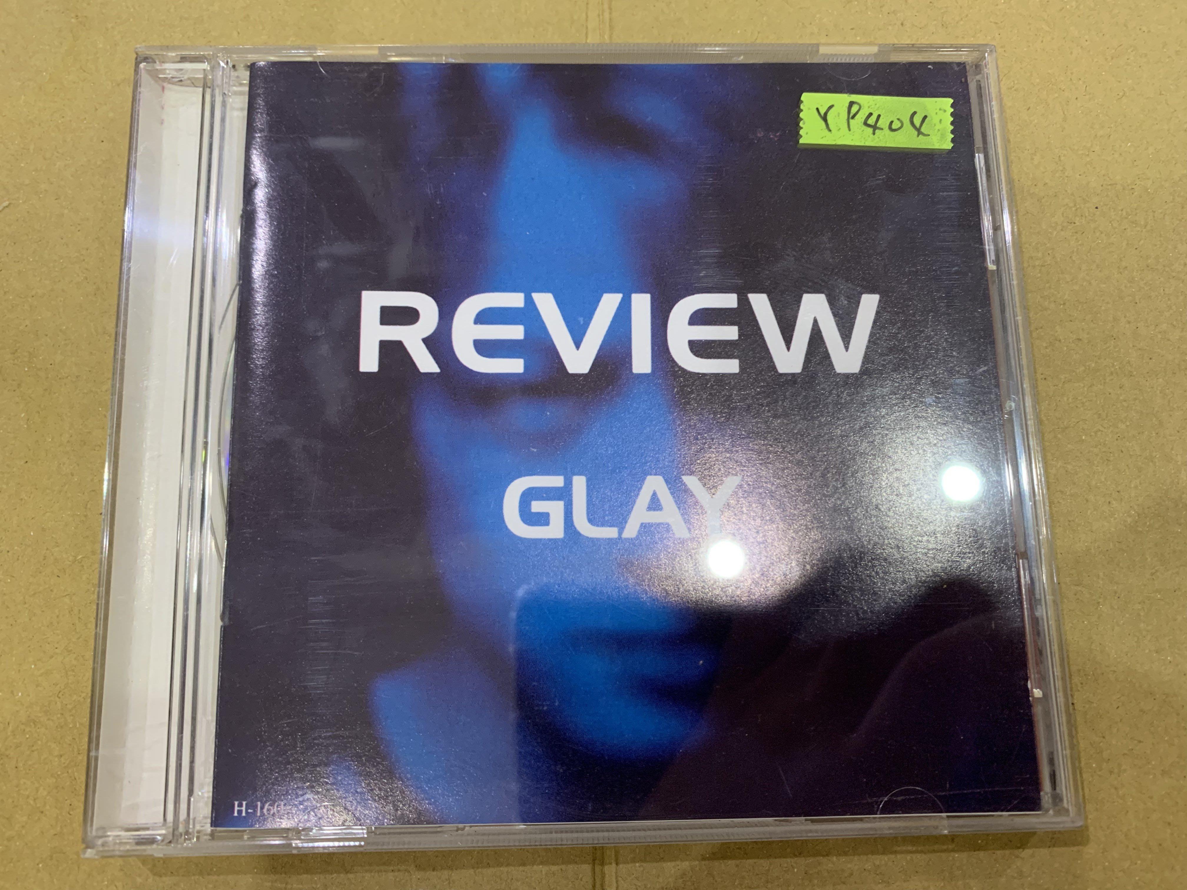 *還有唱片行*GLAY / REVIEW 二手 Y9404