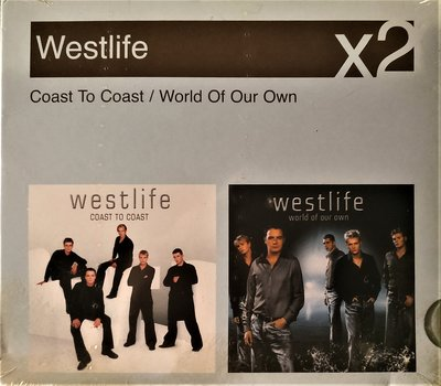 西城男孩 ~ Coast to Coast / World of Our Own by Westlife ~ 歐版全新