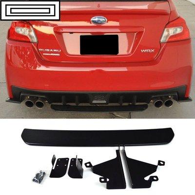 15-17 Subaru WRX OE STI Style Unpainted Black 後下擾流板