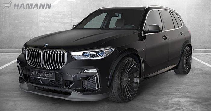 【樂駒】HAMANN BMW X5 G05 全車 大包 外觀 空力 尾翼 下巴 前下擾流 頂翼 後下擾流 輪拱