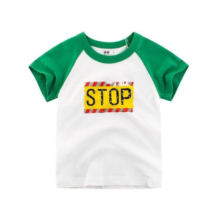 韓版    童裝 夏季 兒童  服裝男童短袖 T恤 寶寶半袖 小孩子的衣服