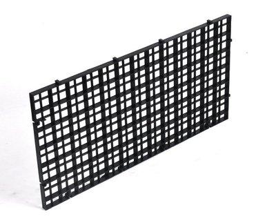 (30*30)魚缸防跳板【NF551】魚缸隔離板水族箱隔斷板底部過濾網格底濾板防跳蓋板格子板可拼接
