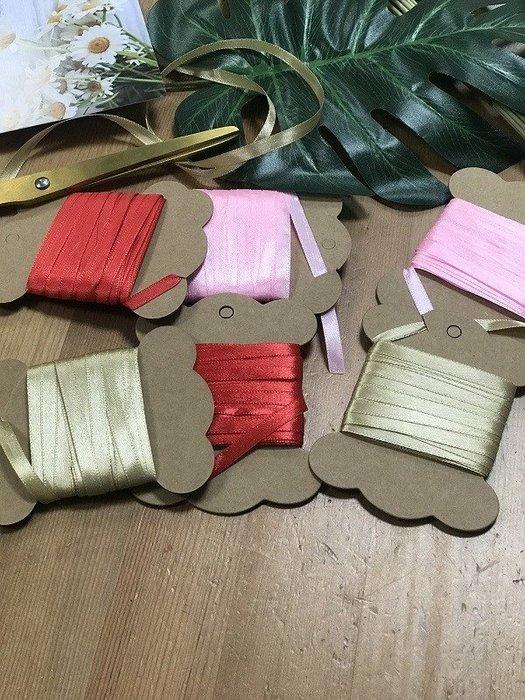 Amy烘焙網:0.6cm包裝緞帶/三色選10公尺1000公分/包裝袋裝飾緞帶/包裝盒封口緞帶/盒子裝飾緞帶
