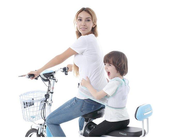 (透氣款)兒童騎行安全帶 KG0034 機車安全帶 台灣現貨 兒童機車綁帶 摩拖車安全帶