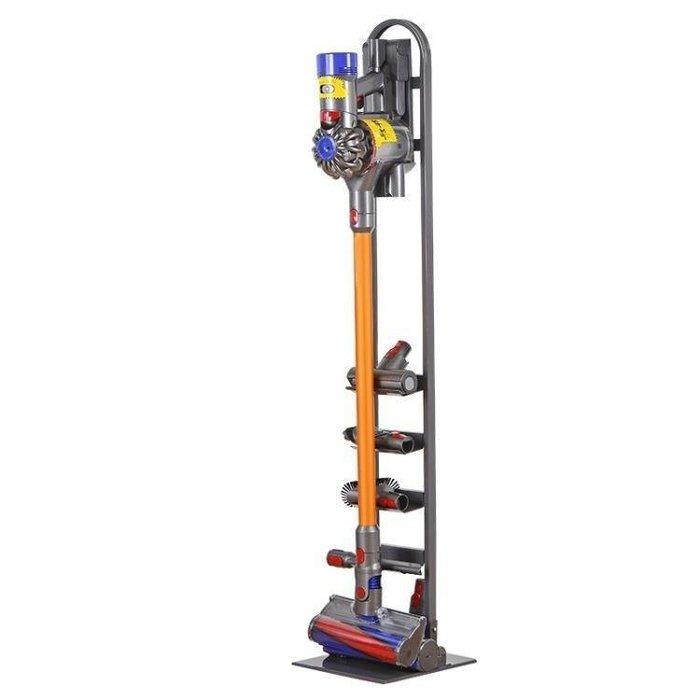 麥麥部落 吸塵器收納架吸塵器支架收納架免打孔架子YON戴森吸塵器MB9D8