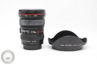 【高雄青蘋果3C】Canon EF 17-40mm f4 L USM UX鏡 二手鏡頭 中古鏡頭 #59494