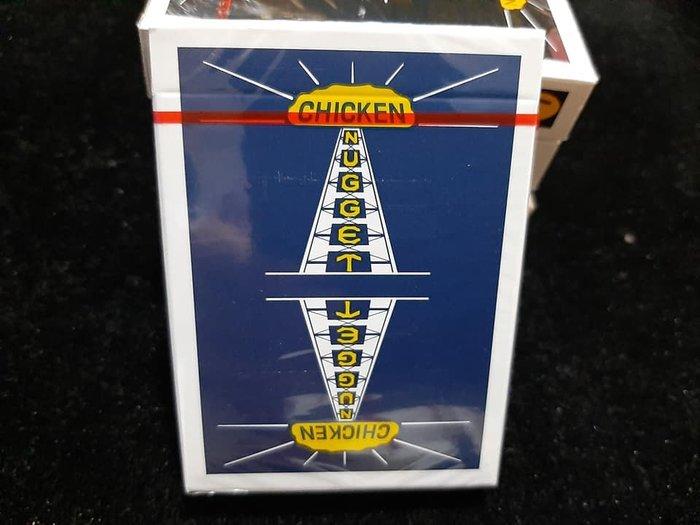 【天天魔法】【G002】正宗原廠~(暗藍)(寶石藍)雞塊牌~Chicken Nugget Playing Cards