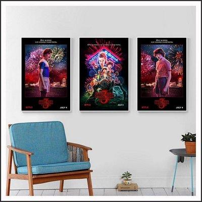 怪奇物語 第三季 Stranger Things 電影海報 藝術微噴 掛畫 嵌框畫 @Movie PoP ~